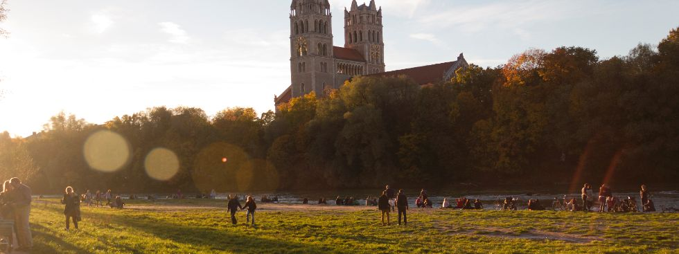 Herbst an der Isar, Foto: Katy Spichal