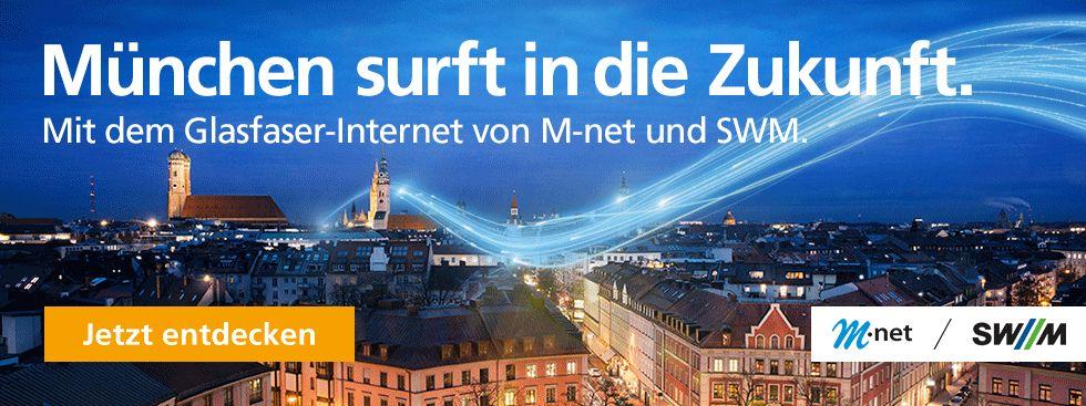 Glasfaserausbau von M-net