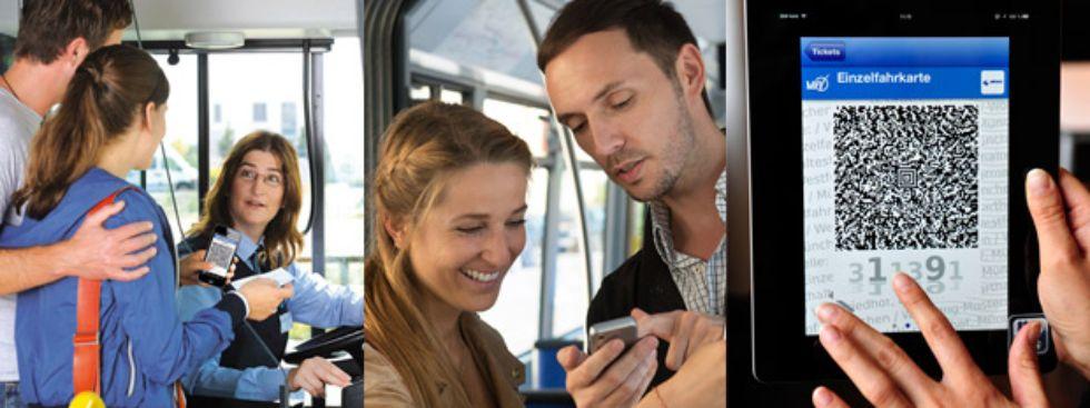 Collage zum HandyTicket, Foto: SWM/MVG, Collage: muenchen.de