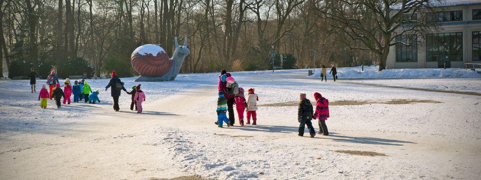 Der Bavariapark im Winter, Foto: muenchen.de/Katy Spichal