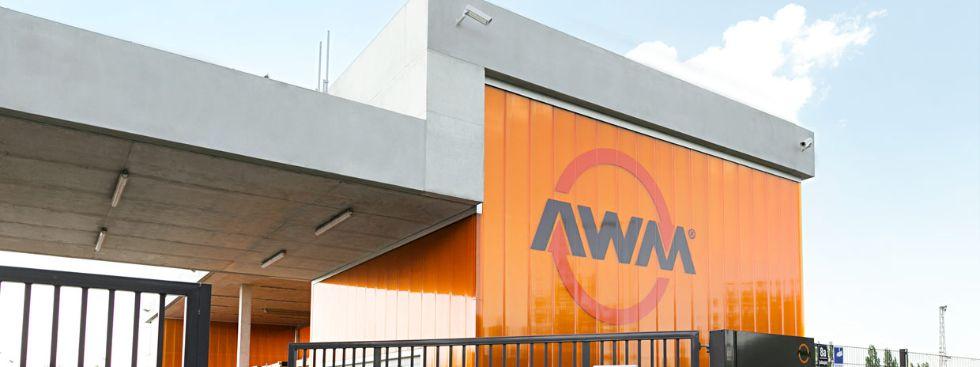 Werstoffhof in Freimann, Foto: AWM
