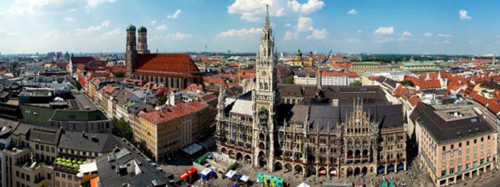 Panorama des Marienplatzes, Foto: muenchen.de