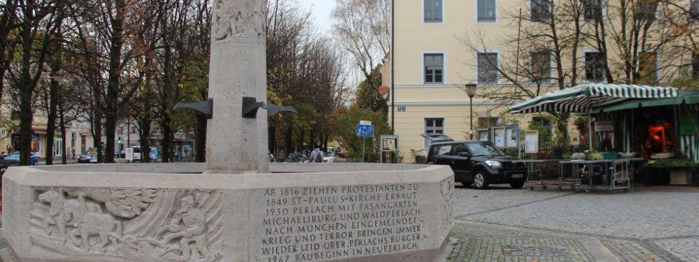 Brunnen am Pfanzeltplatz, Foto: Christian Brunner