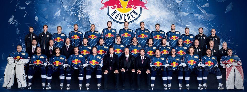 Teamfoto EHC Red Bull München zur Saison 2016/17