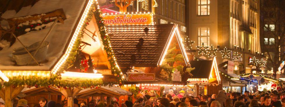 Eindrücke vom Münchner Christkindlmarkt auf dem Marienplatz, Foto: Lukas Barth