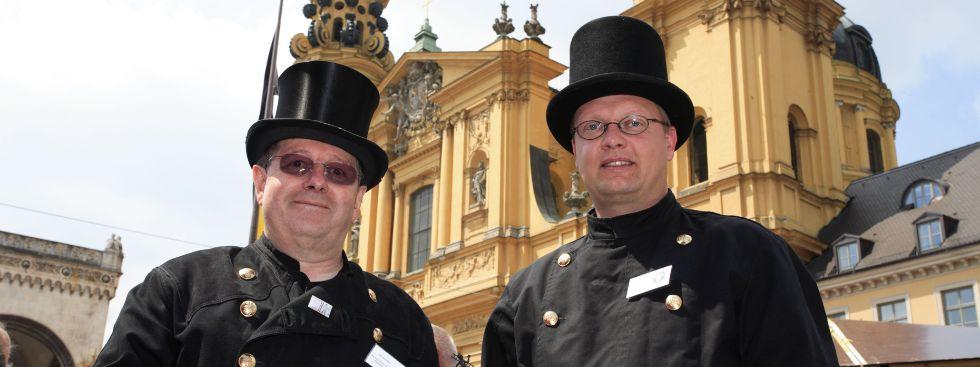 Impressionen vom Stadtgründungsfest in München., Foto: Bernd Römmelt
