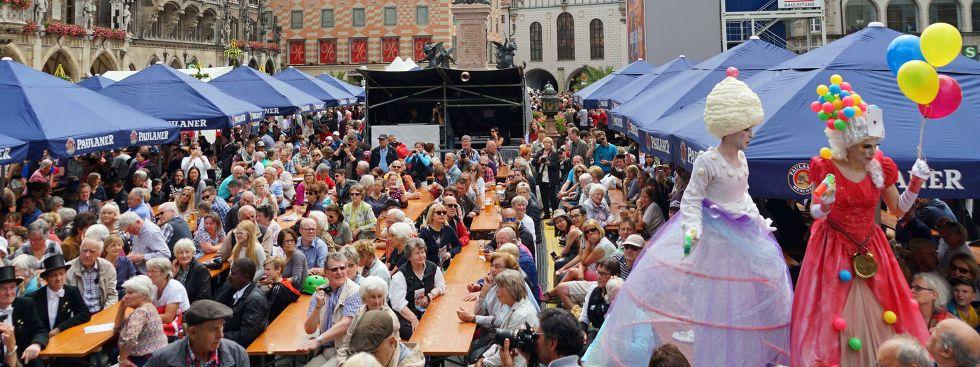 Stadtgründungsfest Kulinarik, Foto: muenchen.de/Dan Vauelle