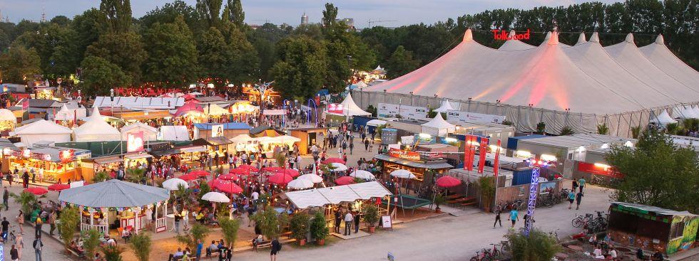 Das Tollwood Sommerfestival im Olympiapark., Foto: Bernd Wackerbauer