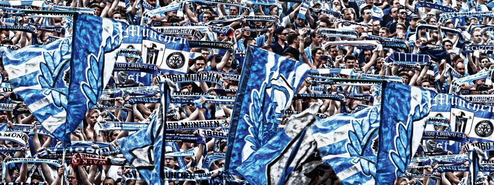 Löwenfans , Foto: TSV 1860 München