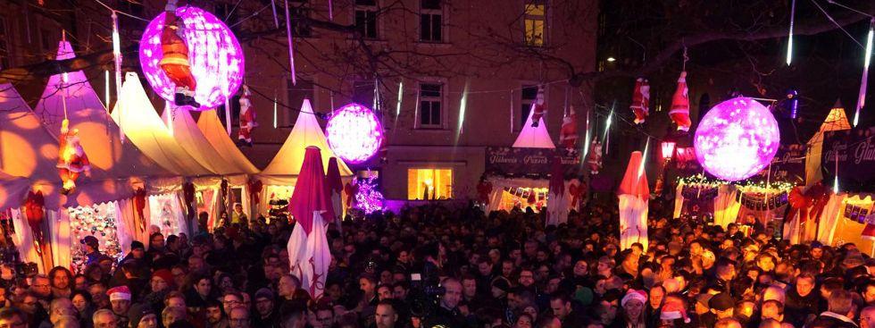 Pink Christmas, Foto: muenchen.de/Dan Vauelle
