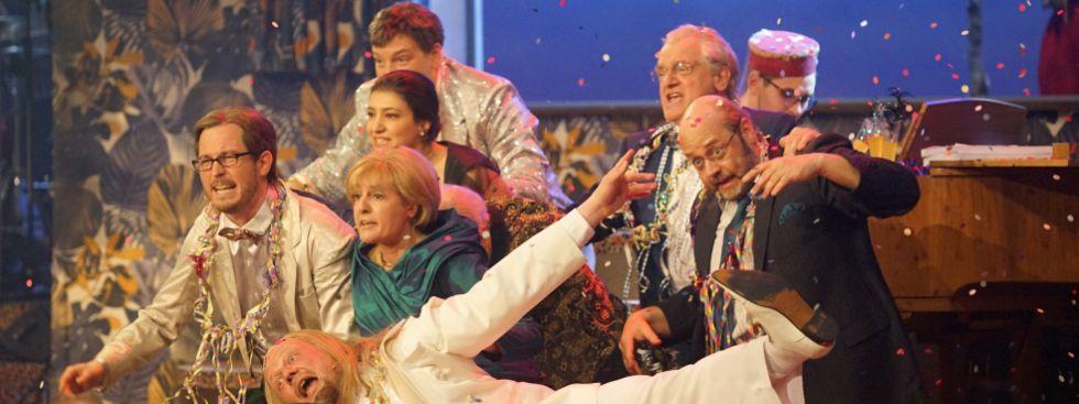 Das Singspiel beim Starkbieranstich 2017 am Nockherberg