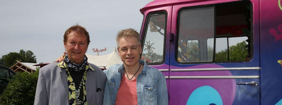 Haindling und Michael Mittermeier am Tollwood, Foto: Tollwood