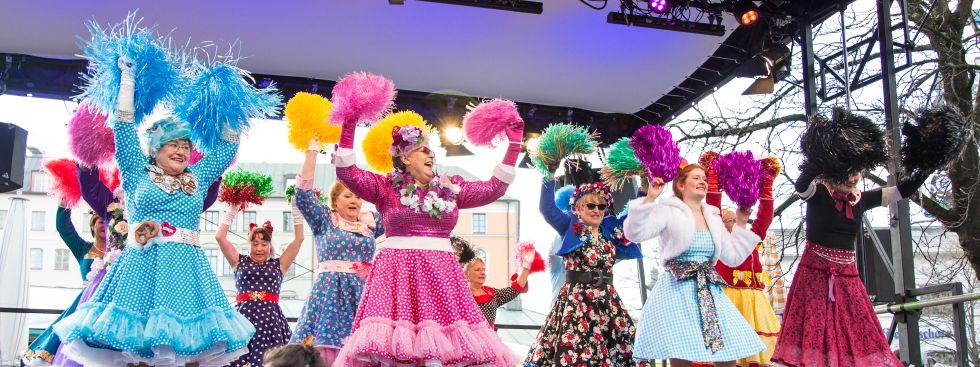 Tanz der Marktweiber 2018, Foto: muenchen.de / Mónica Garduño
