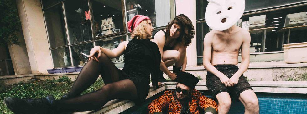 Die Performancegruppe Pussy Riot, Foto: Alexander Sofeev