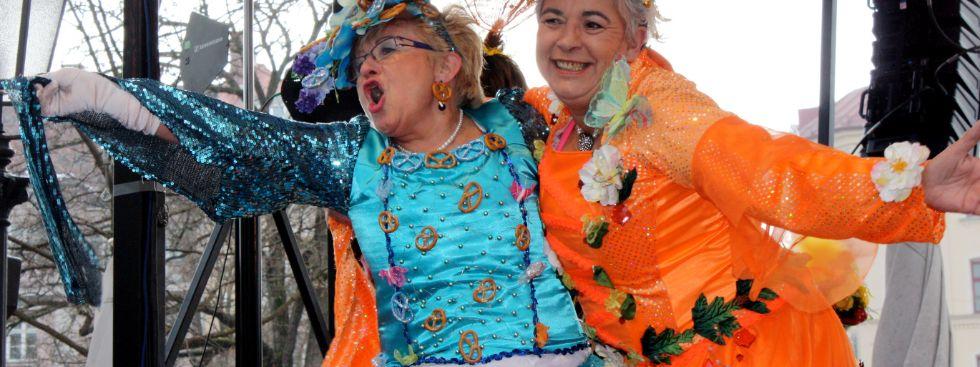 Der Tanz der Marktfrauen auf dem Viktualienmarkt, Foto: Leonie Liebich