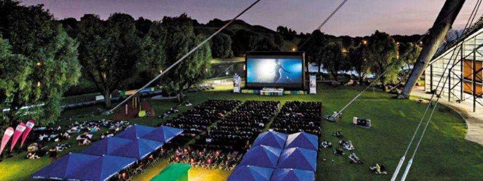 Das Open Air Kino am Olympiasee., Foto: Kino am Olympiasee