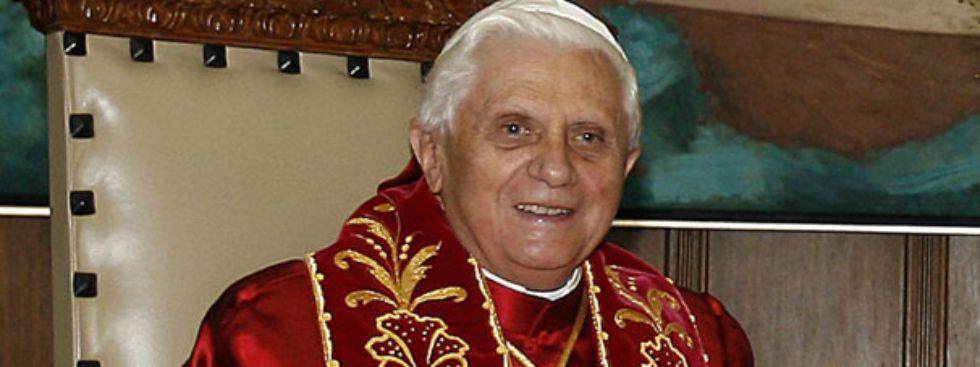 Papst Benedikt, Foto: Agência Brasil / Ricardo Stuckert/PR, Wikipedia