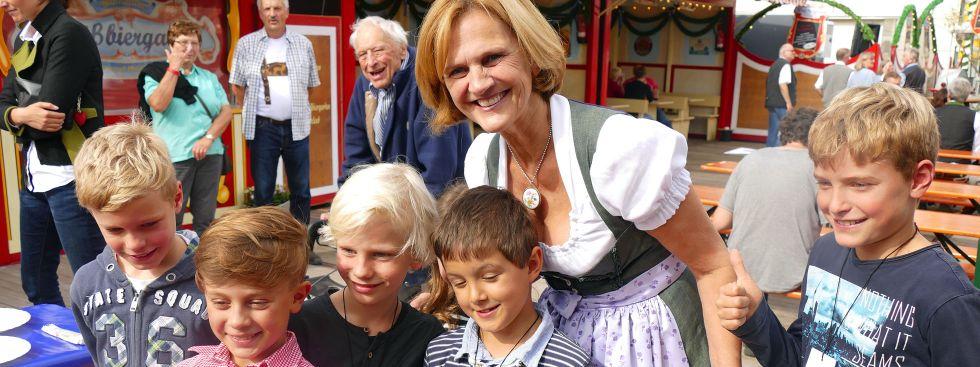 Wiesnbummel mit Karin Seehofer, Foto: muenchen.de/Leonie Liebich