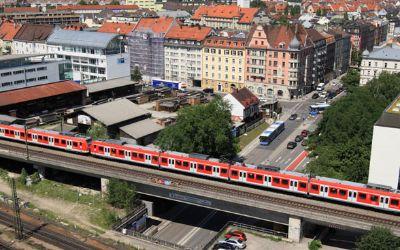 S-Bahn in der Münchner Innenstadt
