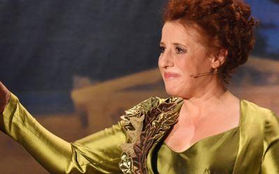 Luise Kinseher als Mama Bavaria am Nockherberg 2017