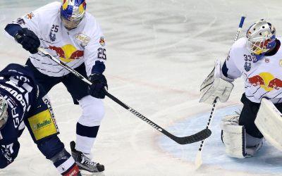 Spielszene EHC Red Bull München vs Eisbären Berlin