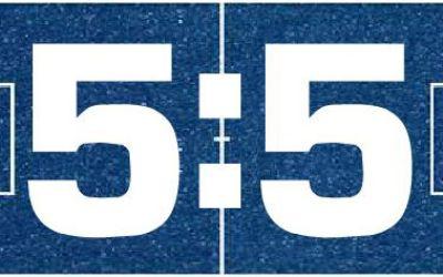 5:5 SoccArena-Spielfeld