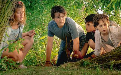 """Szene aus dem Film """"Conni & Co 2 - Das Geheimnis des T-Rex""""."""