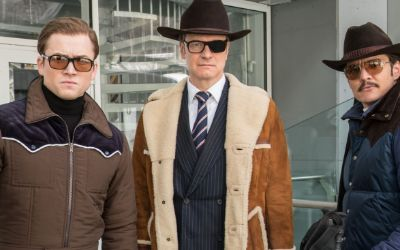 "Szene aus dem Film ""Kingsman: The Golden Circle"""