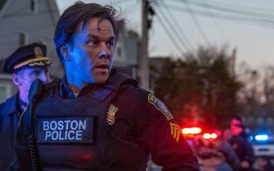 "Szene aus dem Film ""Boston""."