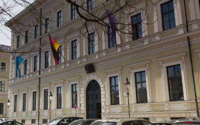 Palais Leuchtenberg am Odeonsplatz