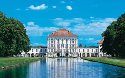 Nymphenburg aus Parksicht