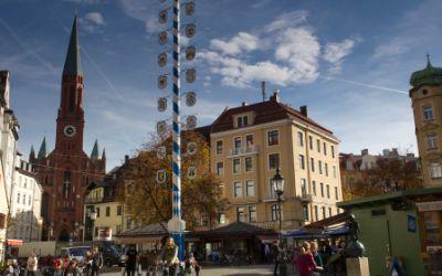 Wiener Platz in München Haidhausen