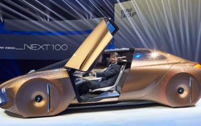 Studie Vision Next 100 beim Festakt zum 100. Jubiläum BMW