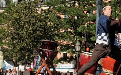 Japanisches Musik-Konzert auf dem Gärtnerplatzfest