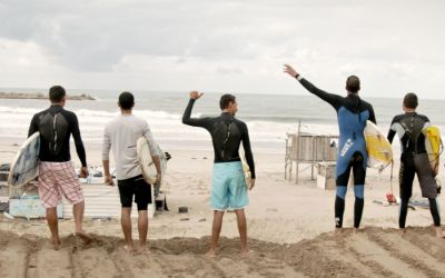 "Filmszene aus ""Gaza Surf Club"""