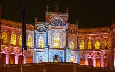 Das Maximilianeum bei der Langen Nacht der Architektur