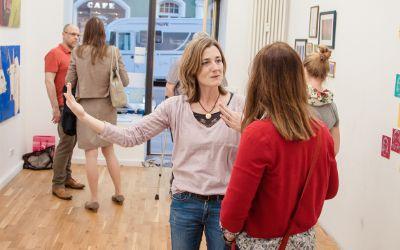 Open Westend - Ausstellung von Nicole Schober, Maren Martschenkos und Inga Riecken