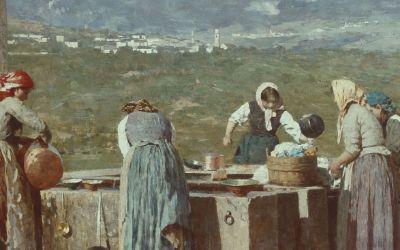 Bartolomeo Bezzi - Vorabend des Kirchweihfestes