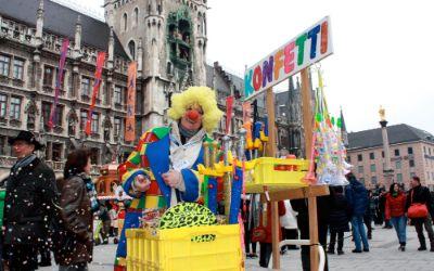 München narrisch - Faschingsspaß in der Fußgängerzone