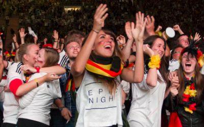 Public Viewing WM-Finale 2014 Deutschland-Argentinien