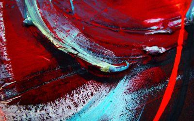 Abstraktes Kunstgemälde
