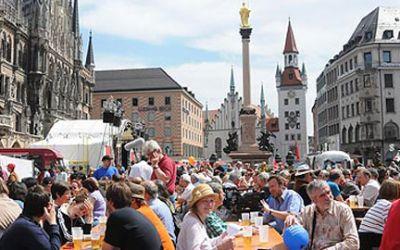 Kulturfest auf dem Marienplatz