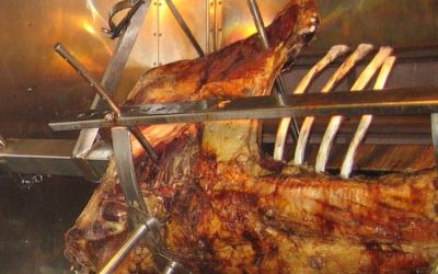 Ochsenbraterei auf dem Oktoberfest