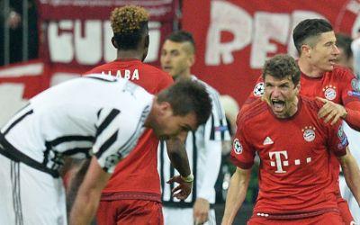 Thomas Müller jubelt über Ausgleich gegen Juventus Turin