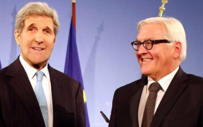 US-Außenminister John Kerry und Bundesaußenminister Frank-Walter Steinmeier