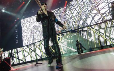 Scorpions live auf der Bühne