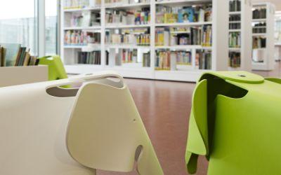 Die Stadtbibliothek Giesing.