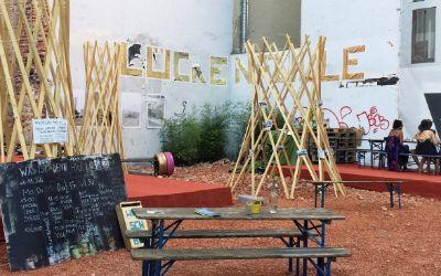 Kulturprojekt Lückenfülle am Stiglmaierplatz