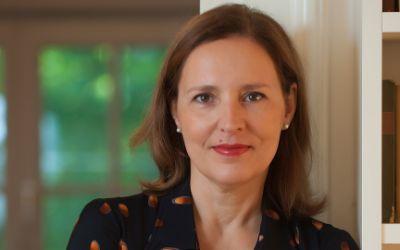 Tanja Graf, die neue Leiterin des Literaturhauses
