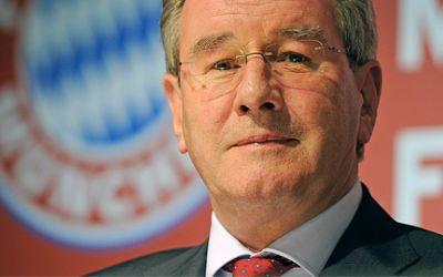 Karl Hopfner, Präsident des FC Bayern München